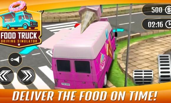 Food Truck Driving Simulator Ekran Görüntüleri - 3
