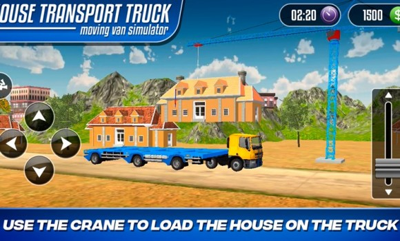 House Transport Truck Moving Van Simulator Ekran Görüntüleri - 1