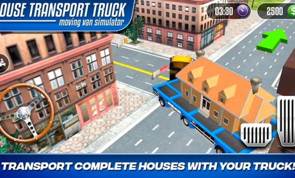 House Transport Truck Moving Van Simulator Ekran Görüntüleri - 3