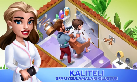 My Beauty Spa: Stars and Stories Ekran Görüntüleri - 2