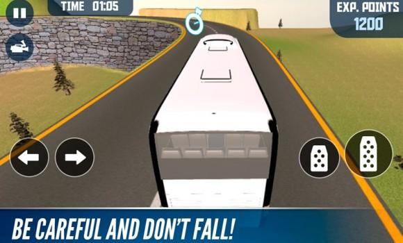 Offroad Bus Mountain Simulator Ekran Görüntüleri - 1