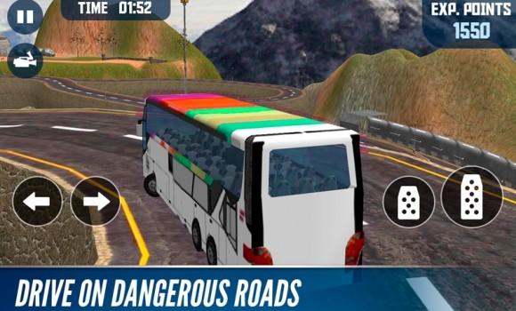 Offroad Bus Mountain Simulator Ekran Görüntüleri - 2
