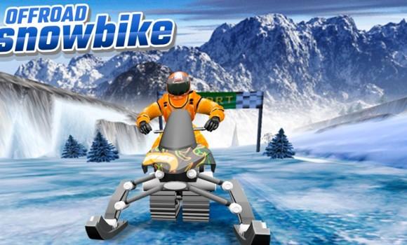 OffRoad Snow Bike Ekran Görüntüleri - 2