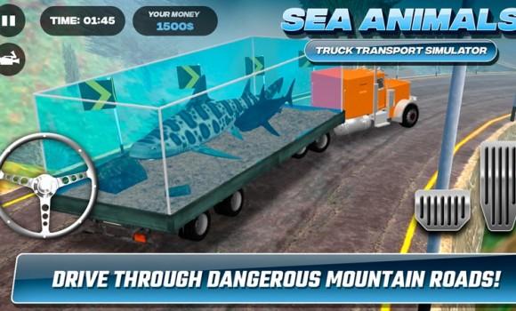Sea Animals Truck Transport Simulator Ekran Görüntüleri - 2