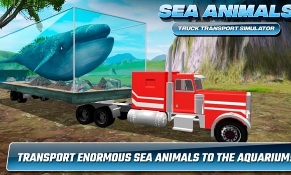 Sea Animals Truck Transport Simulator Ekran Görüntüleri - 3