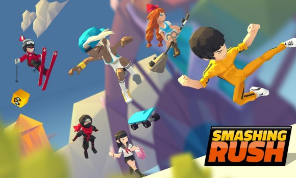 Smashing Rush : Parkour Action Run Game Ekran Görüntüleri - 1