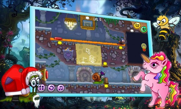 Snail Bobbery: Fantasy Journey Ekran Görüntüleri - 1