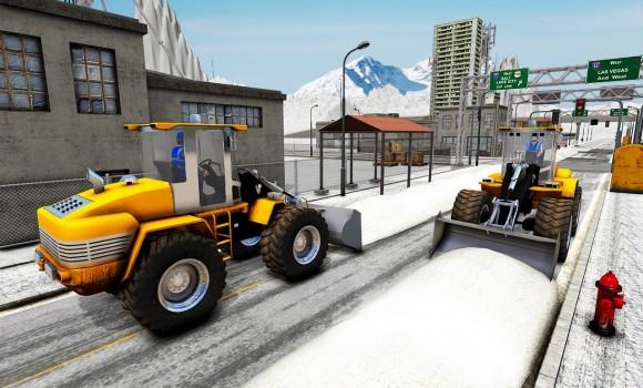 Snow Excavator Crane Simulator Ekran Görüntüleri - 2