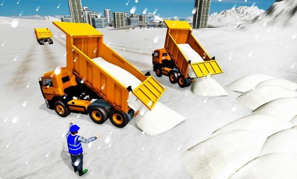 Snow Excavator Crane Simulator Ekran Görüntüleri - 3