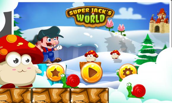 Super Jack's World - Super Jungle World Ekran Görüntüleri - 1