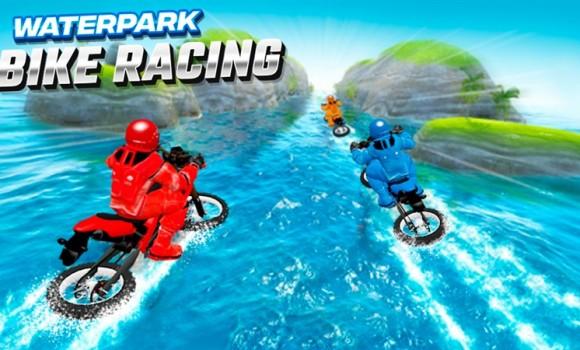 Waterpark Bike Racing Ekran Görüntüleri - 2