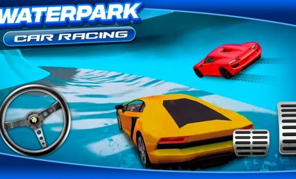 Waterpark Car Racing Ekran Görüntüleri - 1