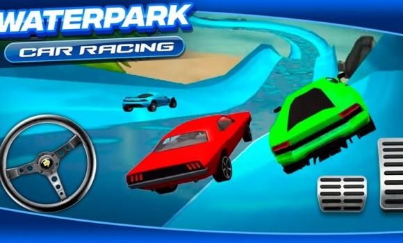Waterpark Car Racing Ekran Görüntüleri - 2