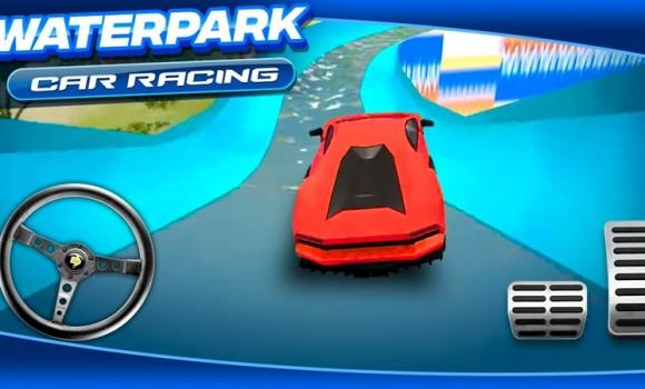 Waterpark Car Racing Ekran Görüntüleri - 3