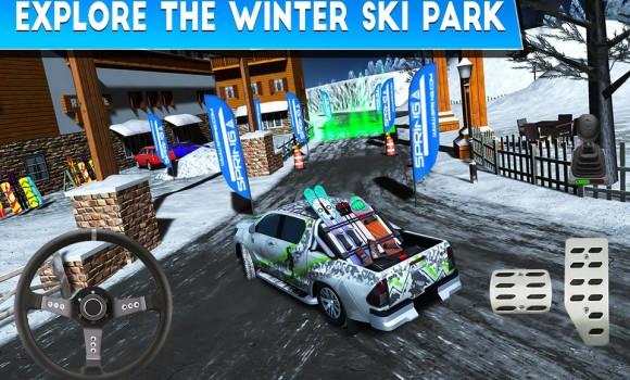 Winter Ski Park: Snow Driver Ekran Görüntüleri - 2