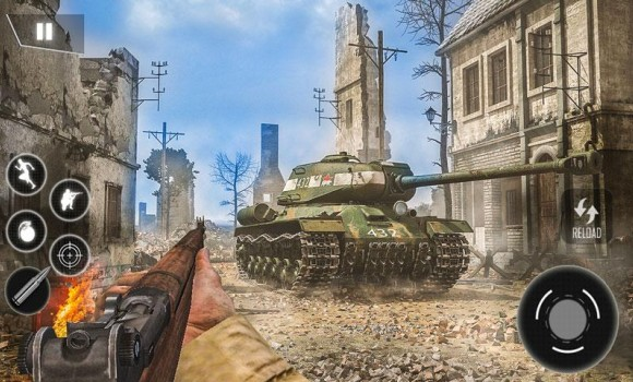 World War II Survival: FPS Shooting Game Ekran Görüntüleri - 3