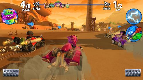 Beach Buggy Racing 2 Ekran Görüntüleri - 2