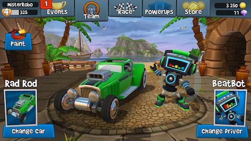 Beach Buggy Racing 2 Ekran Görüntüleri - 5