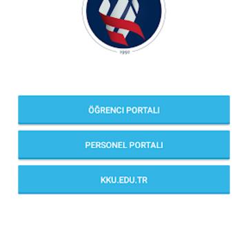 Kırıkkale Üniversitesi Portal Sistemi Ekran Görüntüleri - 1