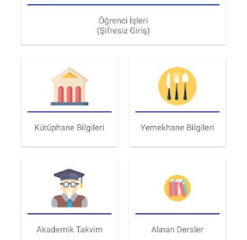 Kırıkkale Üniversitesi Portal Sistemi Ekran Görüntüleri - 2