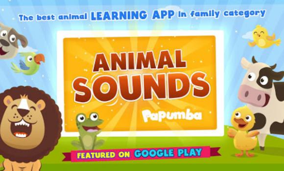 Papumba Animal Sounds Ekran Görüntüleri - 1