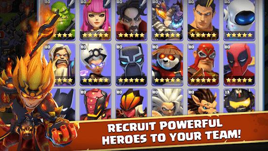 Heroes Mobile: World War Z Ekran Görüntüleri - 3