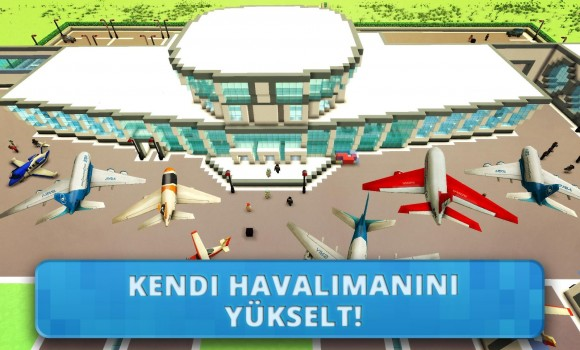 Airport Craft: Flight Simulator & Airport Building Ekran Görüntüleri - 1