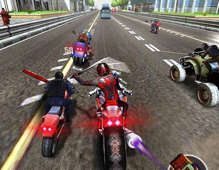 Çılgın Motorcu Ekran Görüntüleri - 2