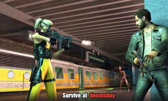 Hopeless Raider-Zombie Shooting Games Ekran Görüntüleri - 1