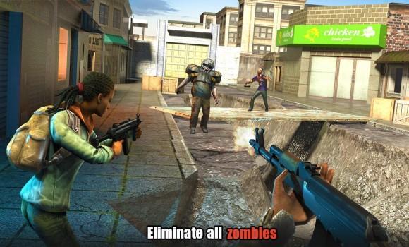 Hopeless Raider-Zombie Shooting Games Ekran Görüntüleri - 3