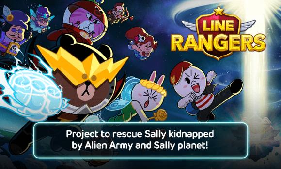 LINE Rangers Ekran Görüntüleri - 1