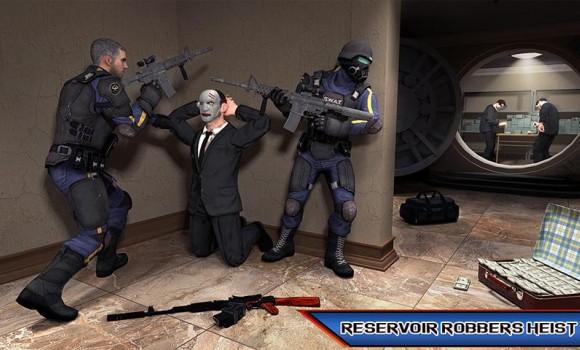 NY Police Battle Bank Robbery Gangster Crime Ekran Görüntüleri - 1
