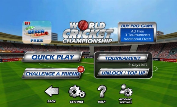 World Cricket Championship Lt Ekran Görüntüleri - 3