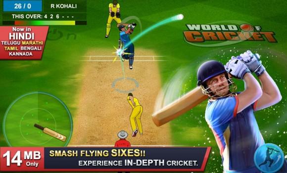 World of Cricket Ekran Görüntüleri - 1