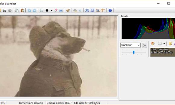 Color Quantizer Resim Sıkıştırma Programı - 1