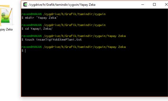 Cygwin Windows'ta Linux Emülatörü Kullanmak 2 - 2