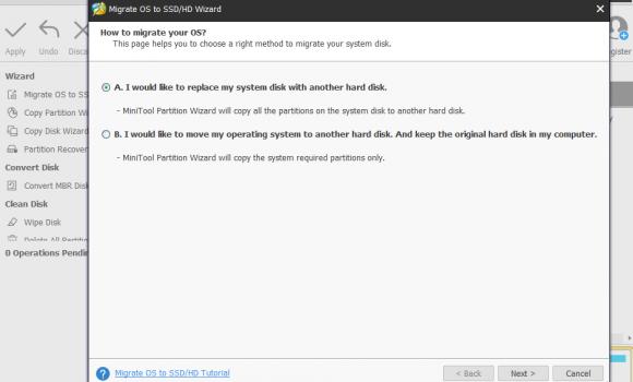 MiniTool Partition Wizard Free Edition Ekran Görüntüleri - 2