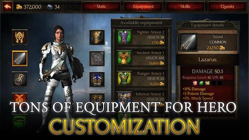 Arcane Quest Legends Ekran Görüntüleri - 2