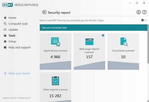 ESET NOD32 Antivirus Ekran Görüntüleri - 5