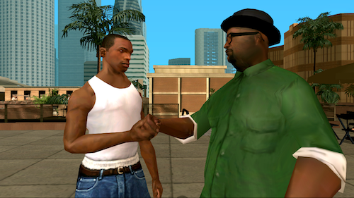 GTA: San Andreas Ekran Görüntüleri - 1