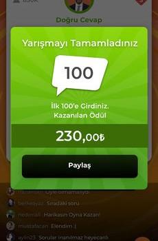Oyna Kazan Ekran Görüntüleri - 9