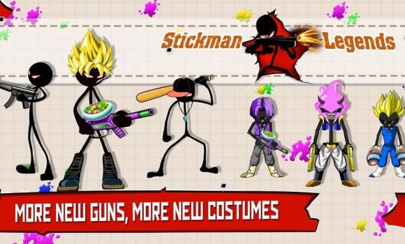 Stickman Legends: Gun Shooter 1 - 1