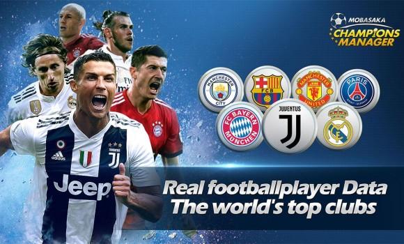 Champions Manager Mobasaka Ekran Görüntüleri - 1