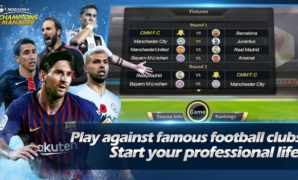 Champions Manager Mobasaka Ekran Görüntüleri - 2