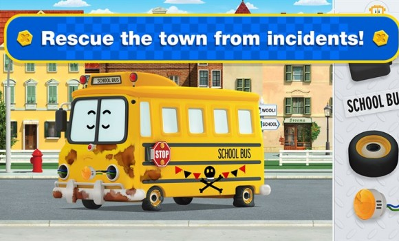 Robocar Poli: Rescue Town & City Games with Amber Ekran Görüntüleri - 2