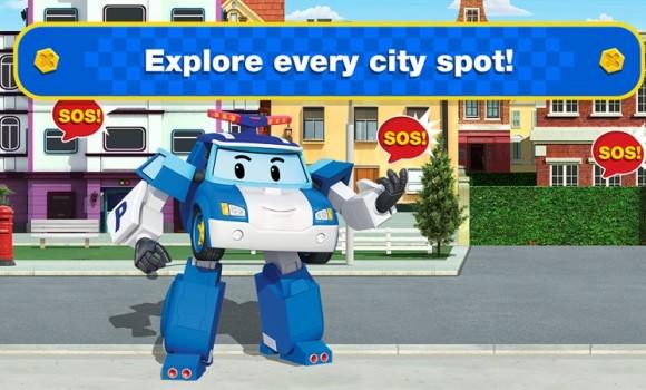 Robocar Poli: Rescue Town & City Games with Amber Ekran Görüntüleri - 3