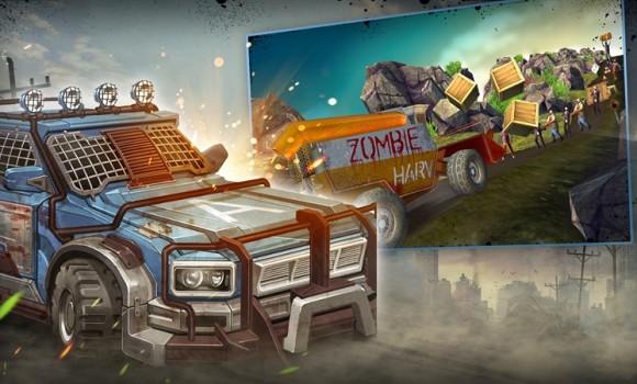 Wild Truck Hitting Zombies Ekran Görüntüleri - 1