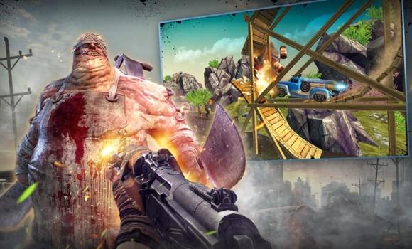 Wild Truck Hitting Zombies Ekran Görüntüleri - 3