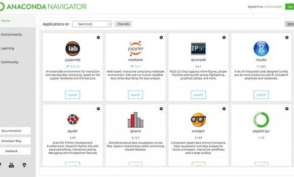 Anaconda Navigator Python IDE 2 - 2
