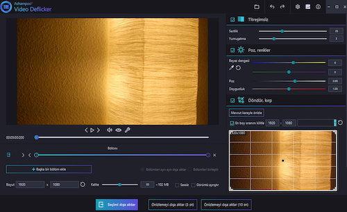 Ashampoo Video Deflicker Ekran Görüntüleri - 1